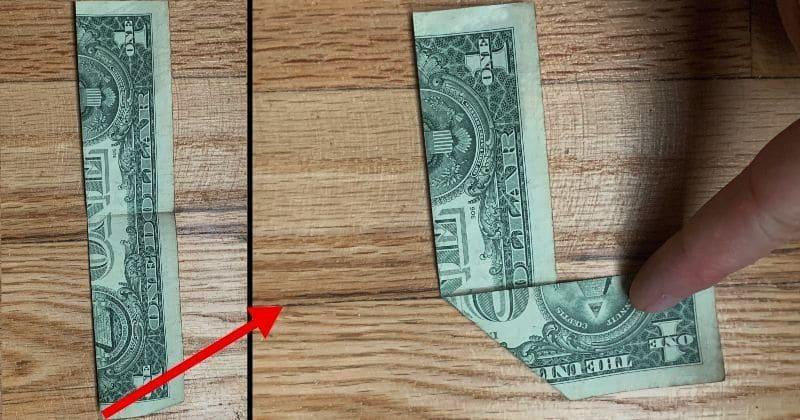 Dollar Bill Origami Ninja Star 4