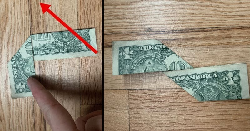 Dollar Bill Origami Ninja Star 5