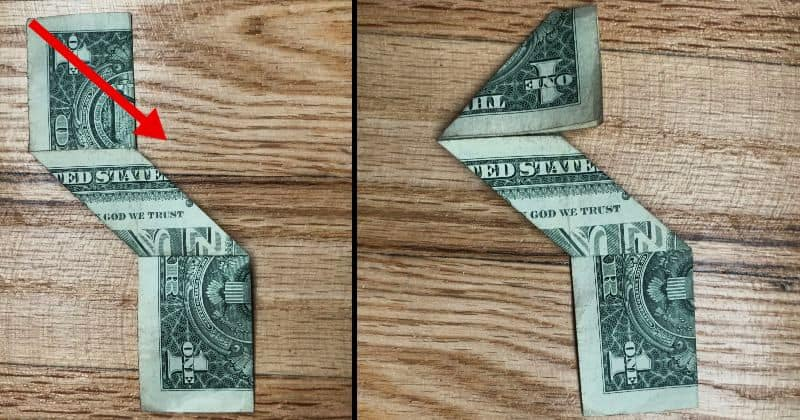 Dollar Bill Origami Ninja Star 6