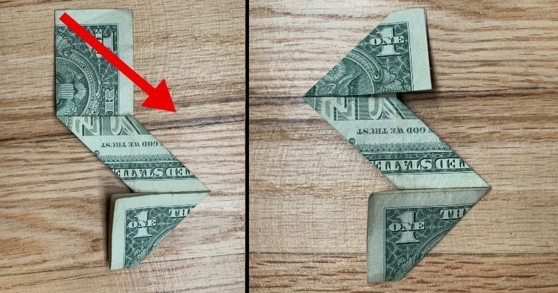 Dollar Bill Origami Ninja Star 7