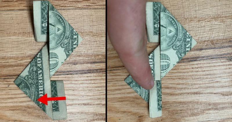 Dollar Bill Origami Ninja Star 8a