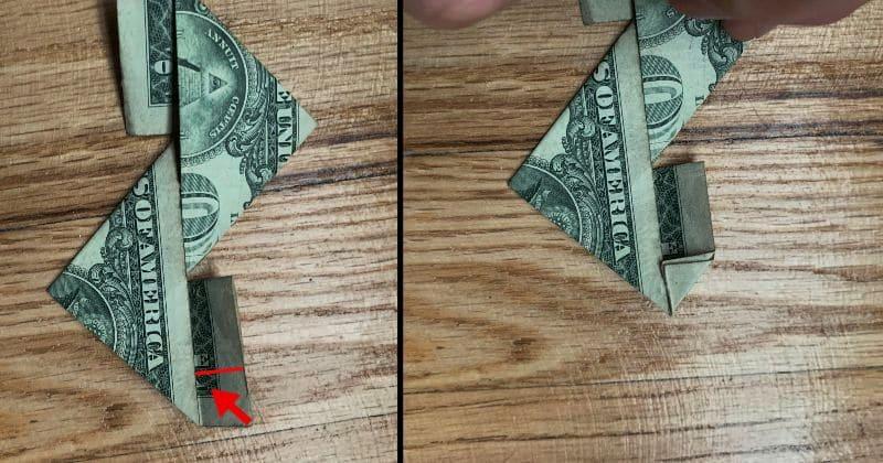 Dollar Bill Origami Ninja Star 9a