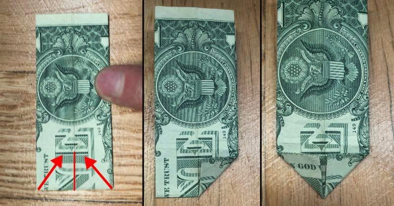 Dollar Bill Origami Pants 4