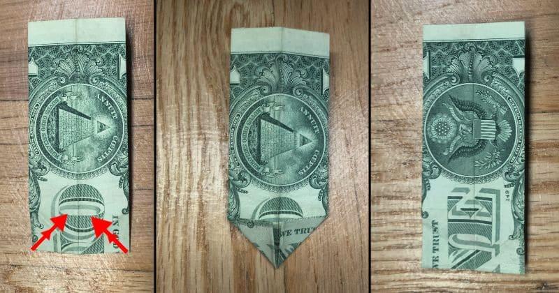 Dollar Bill Origami Pants 5