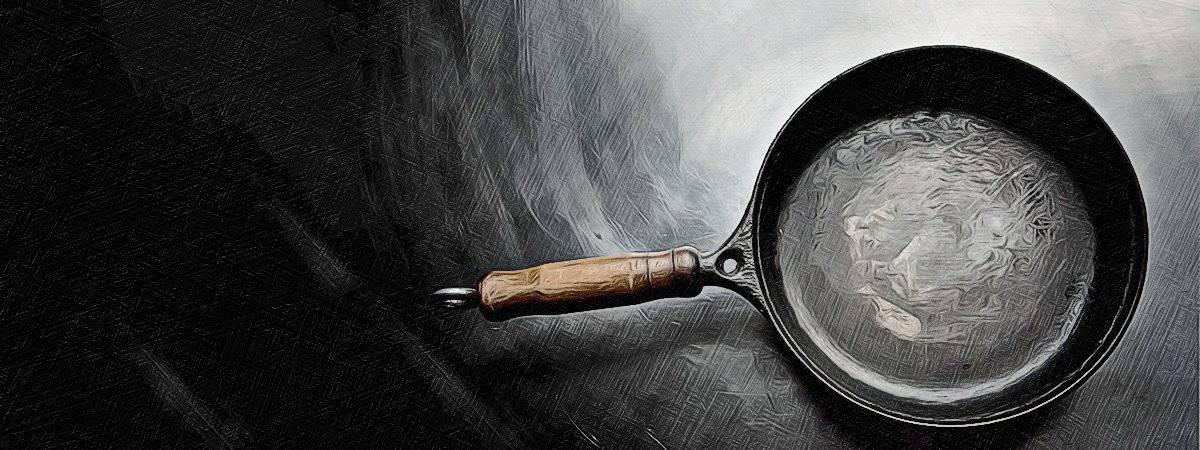 How to season a cast iron skillet in 5 easy steps!