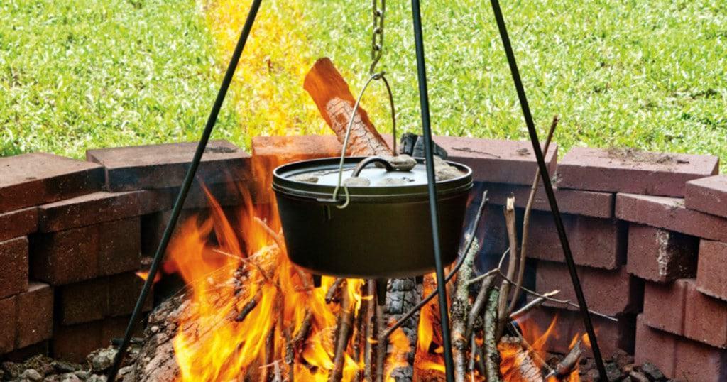 Lodge Cast iron Accessory Camp Tripod