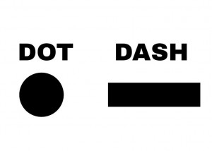 Morse Code Signals - Dots & Dashes