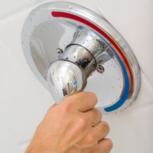 shower handle cold