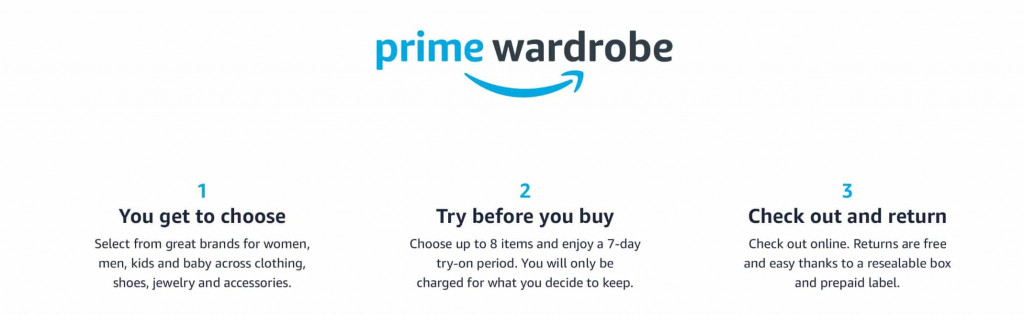 Amazon Wardrobe - Save Money