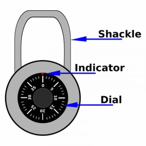 Parts of a lock