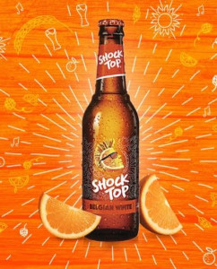 Picture of Shock Top Beer Bottle
