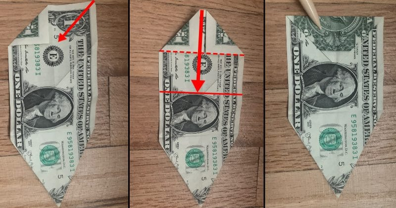 Dollar Bill Origami Dog 10