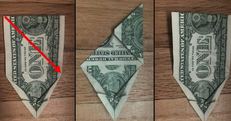 Dollar Bill Origami Dog 11