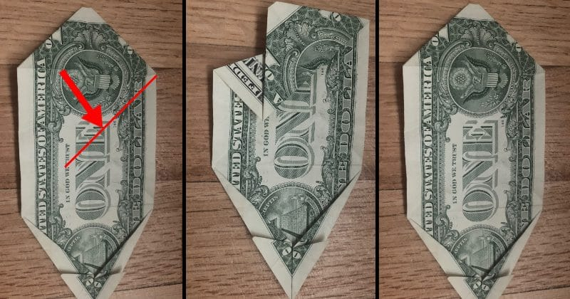 Dollar Bill Origami Dog 12