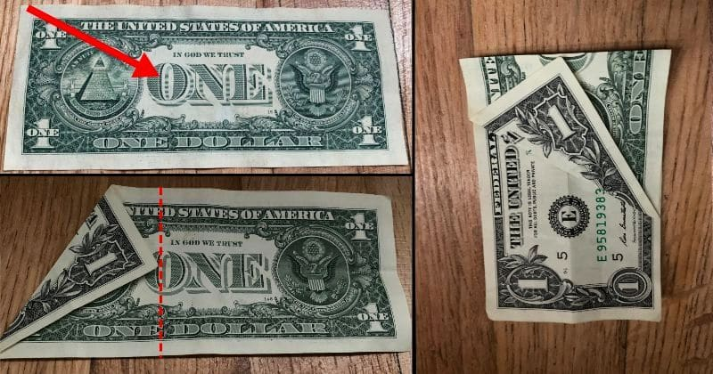 Dollar Bill Origami Dog 2