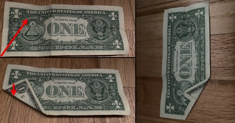 Dollar Bill Origami Dog 3