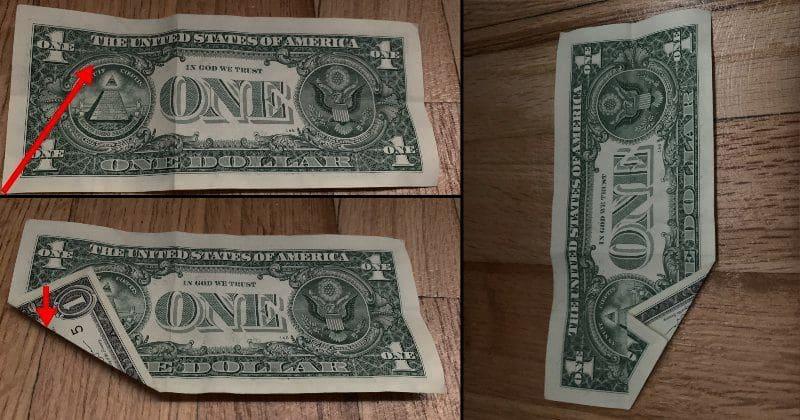 Dollar Bill Origami Dog 3