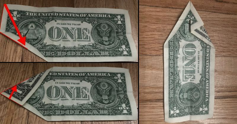 Dollar Bill Origami Dog 5