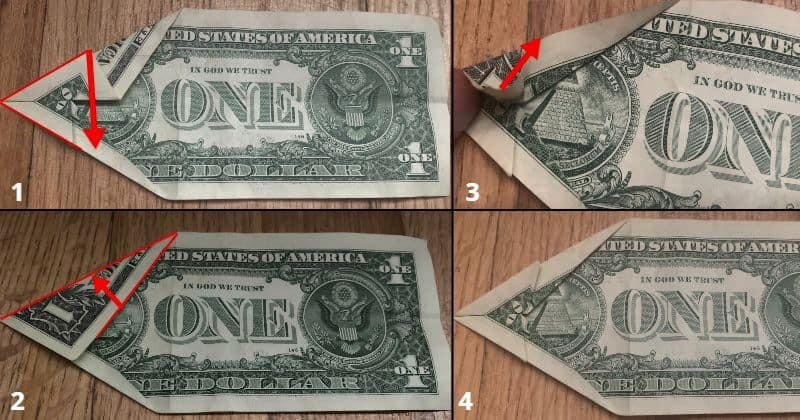 Dollar Bill Origami Dog 6.0