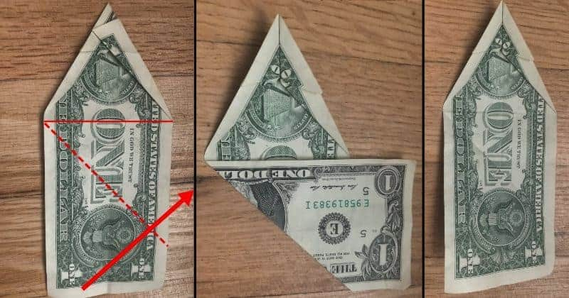 Dollar Bill Origami Dog 7