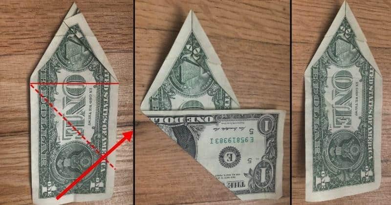 Dollar Bill Origami Dog 7