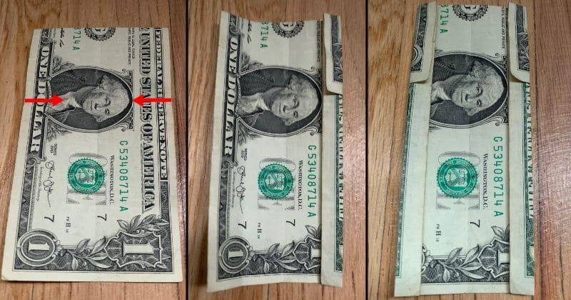 Dollar Bill Origami House 4