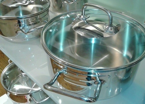 shiny stainless steel
