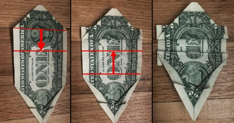 Dollar Bill Origami Dog 13