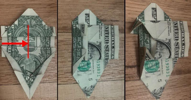 Dollar Bill Origami Dog 14