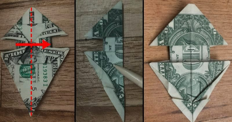 Dollar Bill Origami Dog 17
