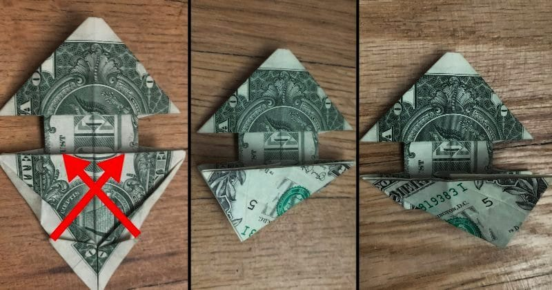 Dollar Bill Origami Dog 18