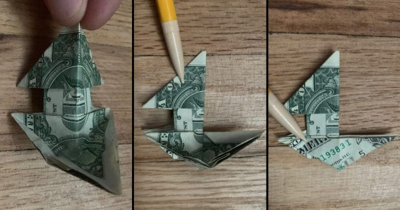 Dollar Bill Origami Dog 19