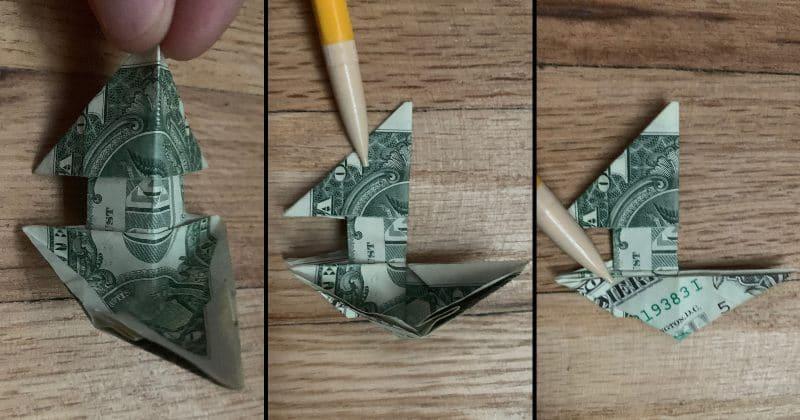 Dollar Bill Origami Dog 19