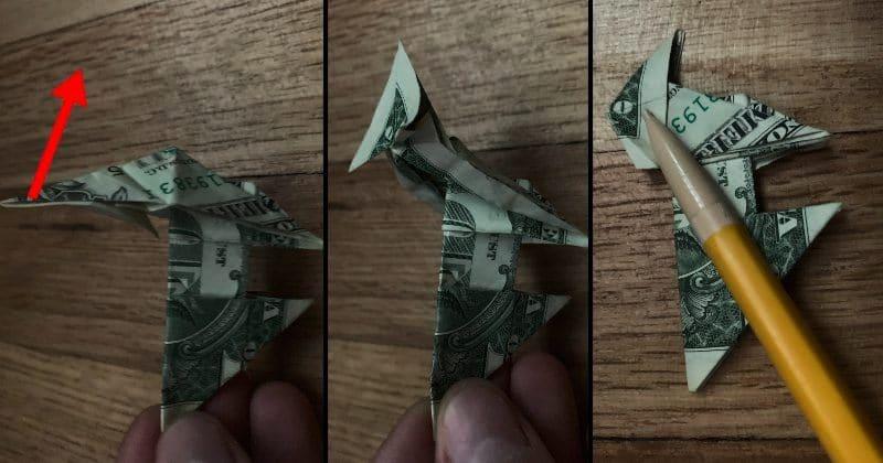 Dollar Bill Origami Dog 20