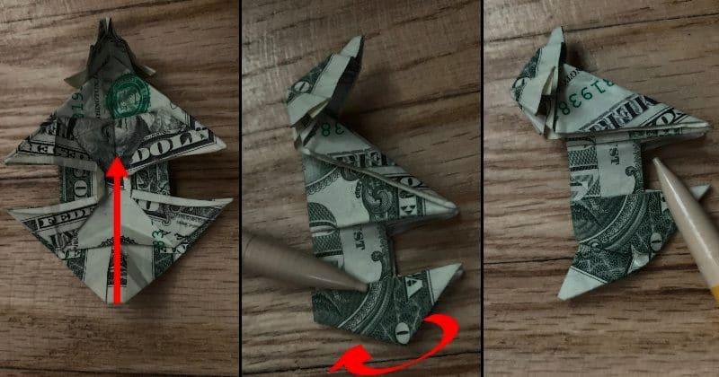 Dollar Bill Origami Dog 22