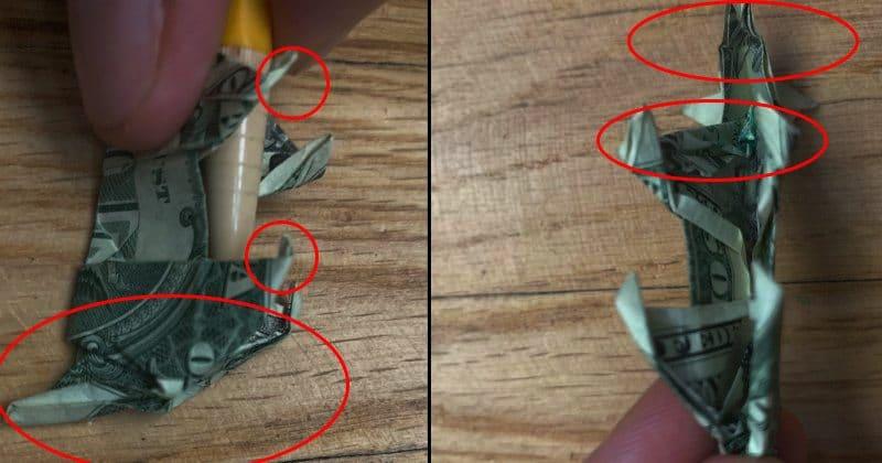 Dollar Bill Origami Dog 24