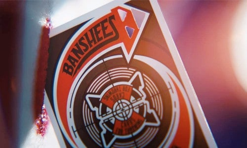 Banshee Advanced Throwing Cards Top