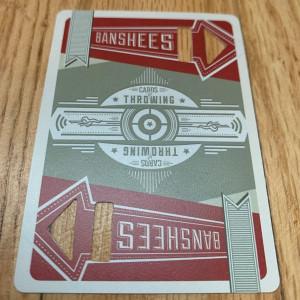 Banshee Throwing Card Top