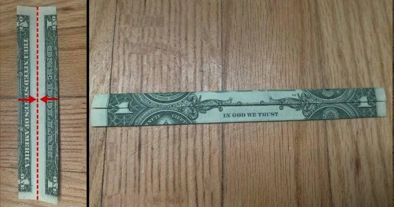 Dollar Bill Origami Cross 4