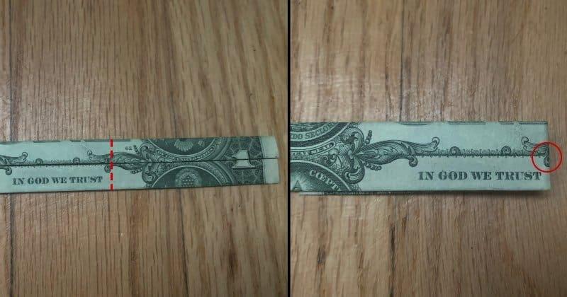 Dollar Bill Origami Cross 5