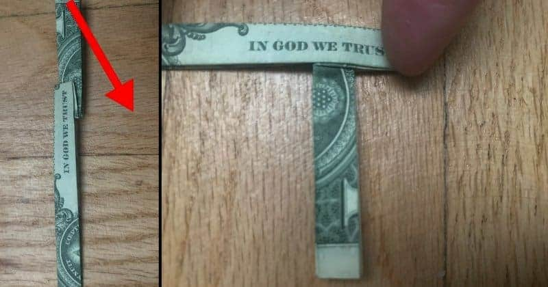 Dollar Bill Origami Cross 8