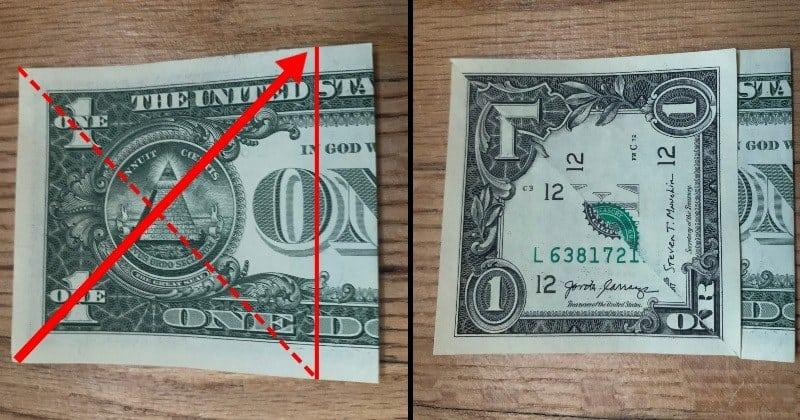 Dollar Bill Origami Butterfly 2