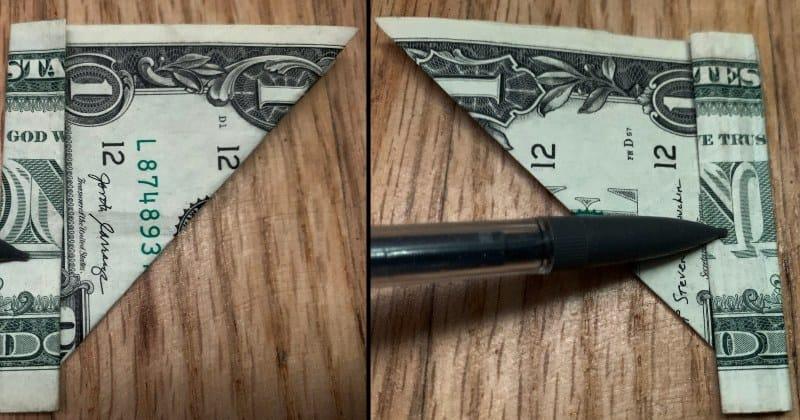 Dollar Bill Origami Butterfly 4