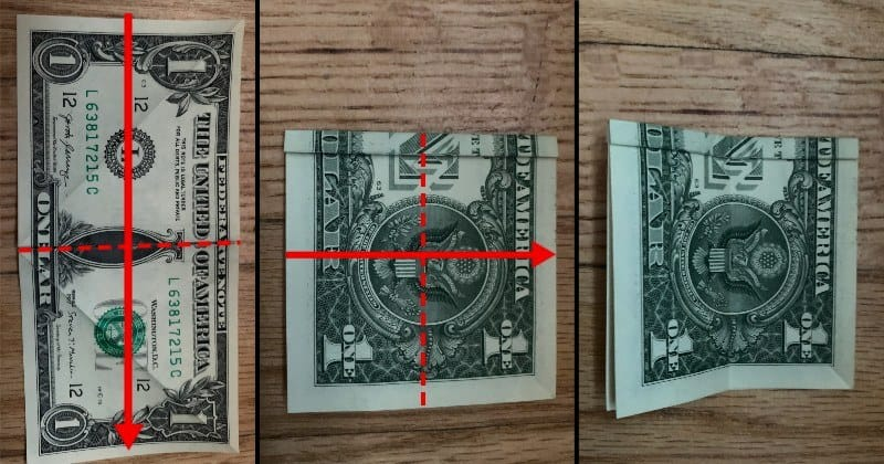 Dollar Bill Origami Butterfly 6