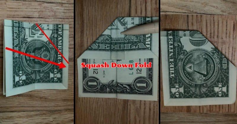 Dollar Bill Origami Butterfly 7