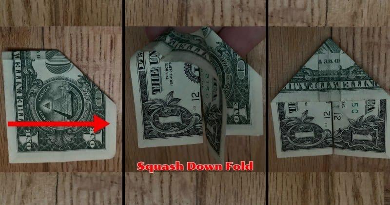 Dollar Bill Origami Butterfly 8