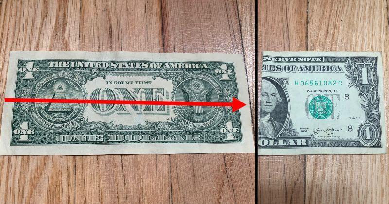 Dollar Bill Origami Sailboat 1