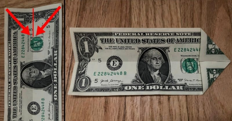 Dollar Bill Origami Star 2