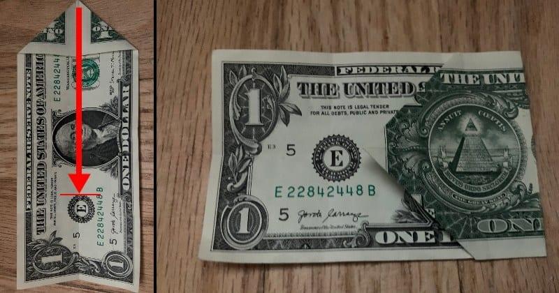 Dollar Bill Origami Star 3
