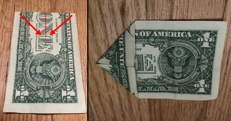 Dollar Bill Origami Star 4